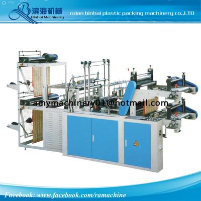 LJ-500   Continuous rolling bag making machine