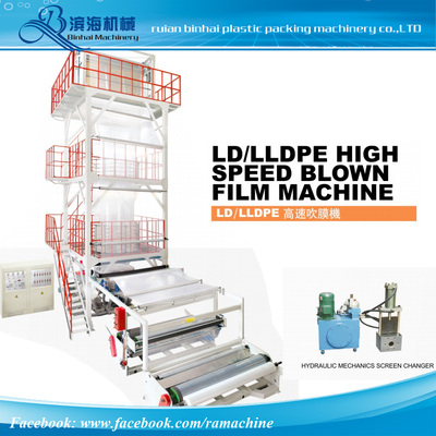 SJ-L-80B/90B/100B/120B  Film Blowing Machine