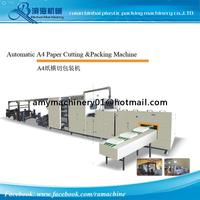 Automatic A4 Paper Cutting Machine and Packing Machine