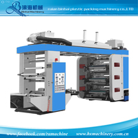 6 Colors High Speed Flexo Printing machine